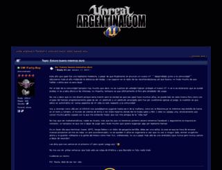 unrealargentina.com.ar screenshot