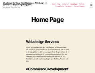 unrealdesigns.co.uk screenshot