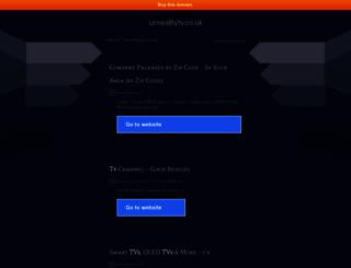 unrealitytv.co.uk screenshot