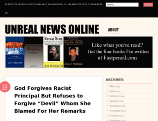 unrealnewsonline.com screenshot