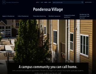 unrgraduatehousing.com screenshot