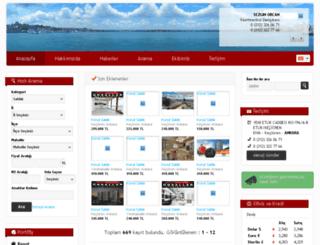 unsallaremlakofisleri.com screenshot