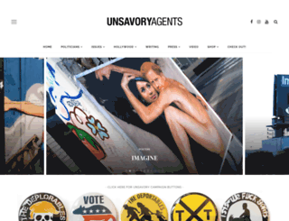 unsavoryagents.com screenshot