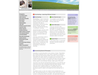 unschool.info screenshot