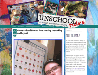 unschoolrules.com screenshot