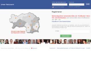 unsernetzwerk.com screenshot