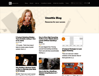 unsettle.org screenshot