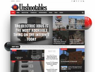 unshootables.com screenshot