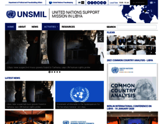 unsmil.unmissions.org screenshot