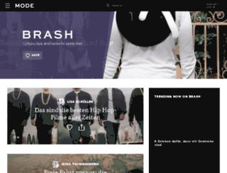 unterhaltung.brash.de screenshot