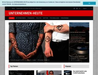 unternehmen-heute.de screenshot
