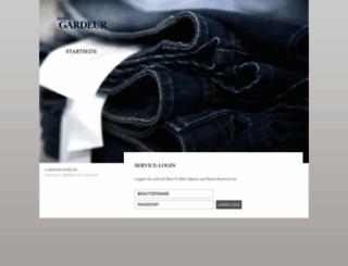 unternehmen.gardeur.de screenshot