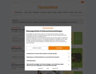 unternehmen.handelsblatt.com screenshot