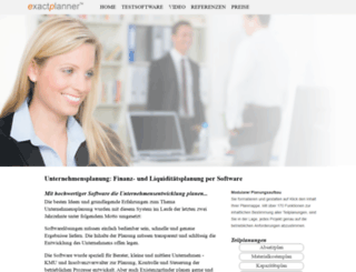 unternehmensplanung-software.de screenshot