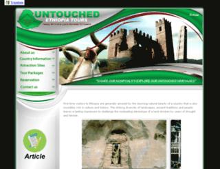untouchedethiopiatours.com screenshot