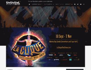 unusual.com.sg screenshot