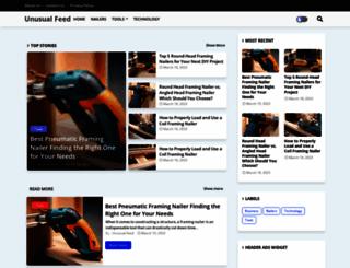 unusualfeed.com screenshot