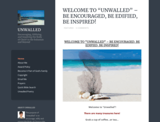 unwalled.wordpress.com screenshot