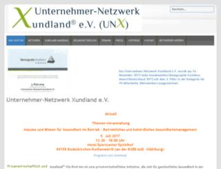 unx-ev.de screenshot