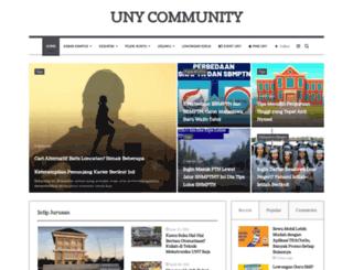 unycommunity.com screenshot