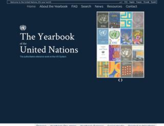 unyearbook.un.org screenshot