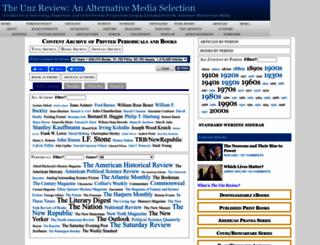 unz.org screenshot