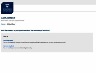 uoa.custhelp.com screenshot