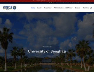 uob.edu.ly screenshot