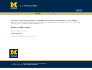 uofmhosting.net screenshot