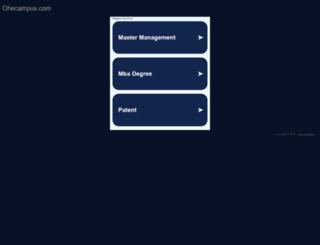 uol.ohecampus.com screenshot