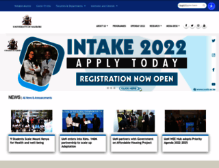 uonbi.ac.ke screenshot