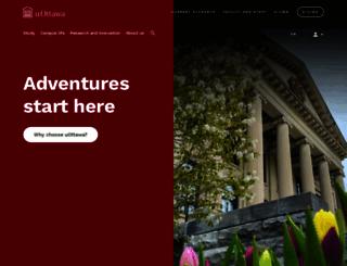 uottawa.ca screenshot