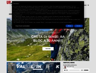 up-climbing.com screenshot