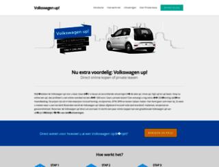 up-volkswagen.nl screenshot