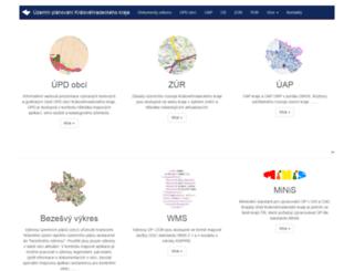 up.kr-kralovehradecky.cz screenshot