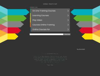 up.video-learn.net screenshot