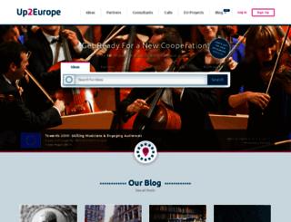 up2europe.eu screenshot