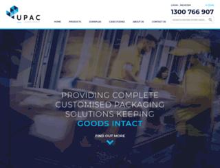 upac.com.au screenshot