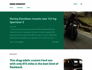 upadhyaykiran.blogspot.com screenshot