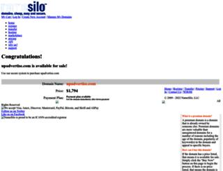 upadvertise.com screenshot