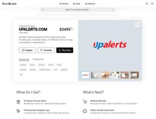 upalerts.com screenshot