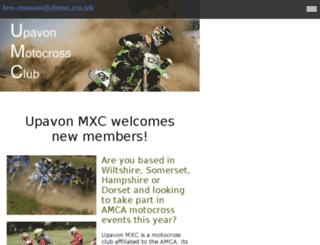 upavonmxc.co.uk screenshot