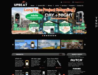 upbeattech.com screenshot