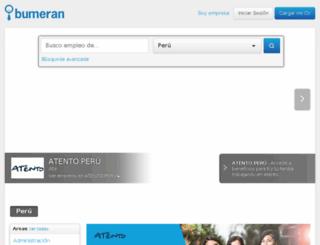 upc.bumeran.com.pe screenshot