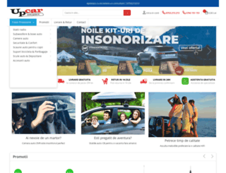upcar.ro screenshot