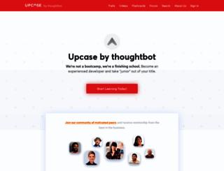 upcase.com screenshot