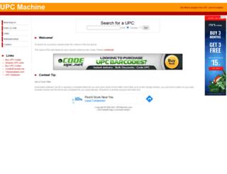 upcmachine.com screenshot