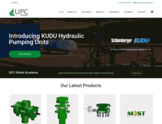 upcoglobal.com screenshot