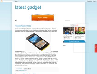 upcoming-gadget-electronic.blogspot.com screenshot
