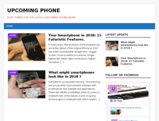 upcomingphone.net screenshot